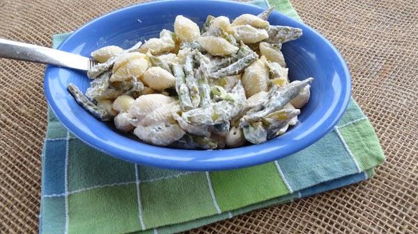 Lemon Vegetable Pasta Salad Recipe