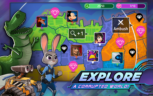 Disney Heroes: Battle Mode apktram screenshots 5