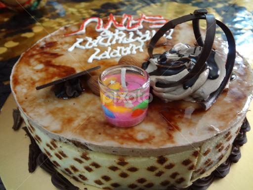 Delesious Birthday Cake By Fahad Mojumder