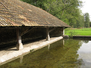 Photo: lavoir sainte Anne à Moutiers