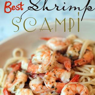 The Best Shrimp Scampi.