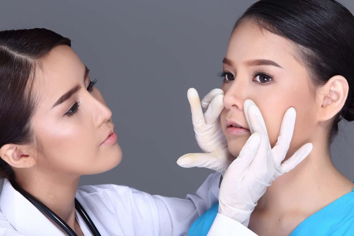 روش عمل بینی گوشتی
