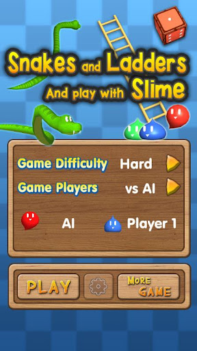 Snakes and Ladders Slime 3D