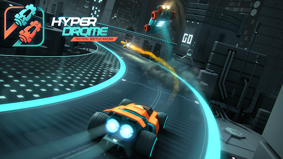 Hyperdrome - Taktisches Rennspiel Screenshot