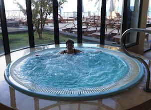 Photo: Ehdin sentään jossain välissä nauttimaan hotellin pore-altaastakin!