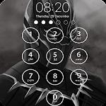 black panther lock wallpaper