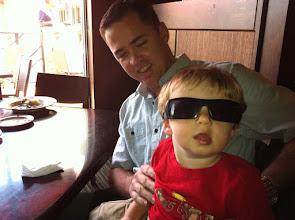 Photo: Finn and Uncle Jason