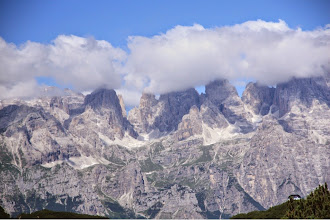 Photo: nubi sul brenta