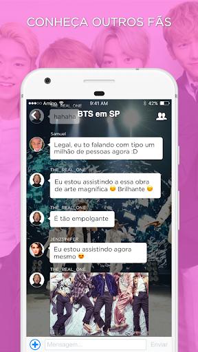 Kpop Amino em Portuguu00eas 1.11.23297 gameplay | AndroidFC 2