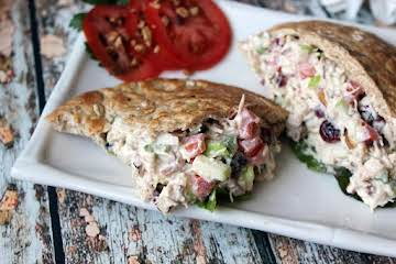 Flavorfully Fantastic Chicken Salad Sandwich