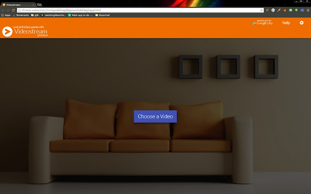 Videostream for Google Chromecast™ - Chrome Web Store