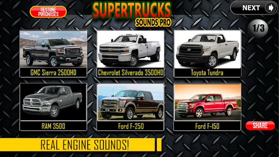 SuperTrucks Sounds Pro- screenshot thumbnail