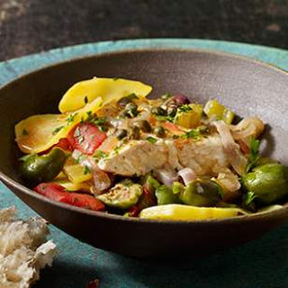Fish Stew With Tomatoes Olives Capers Recipes