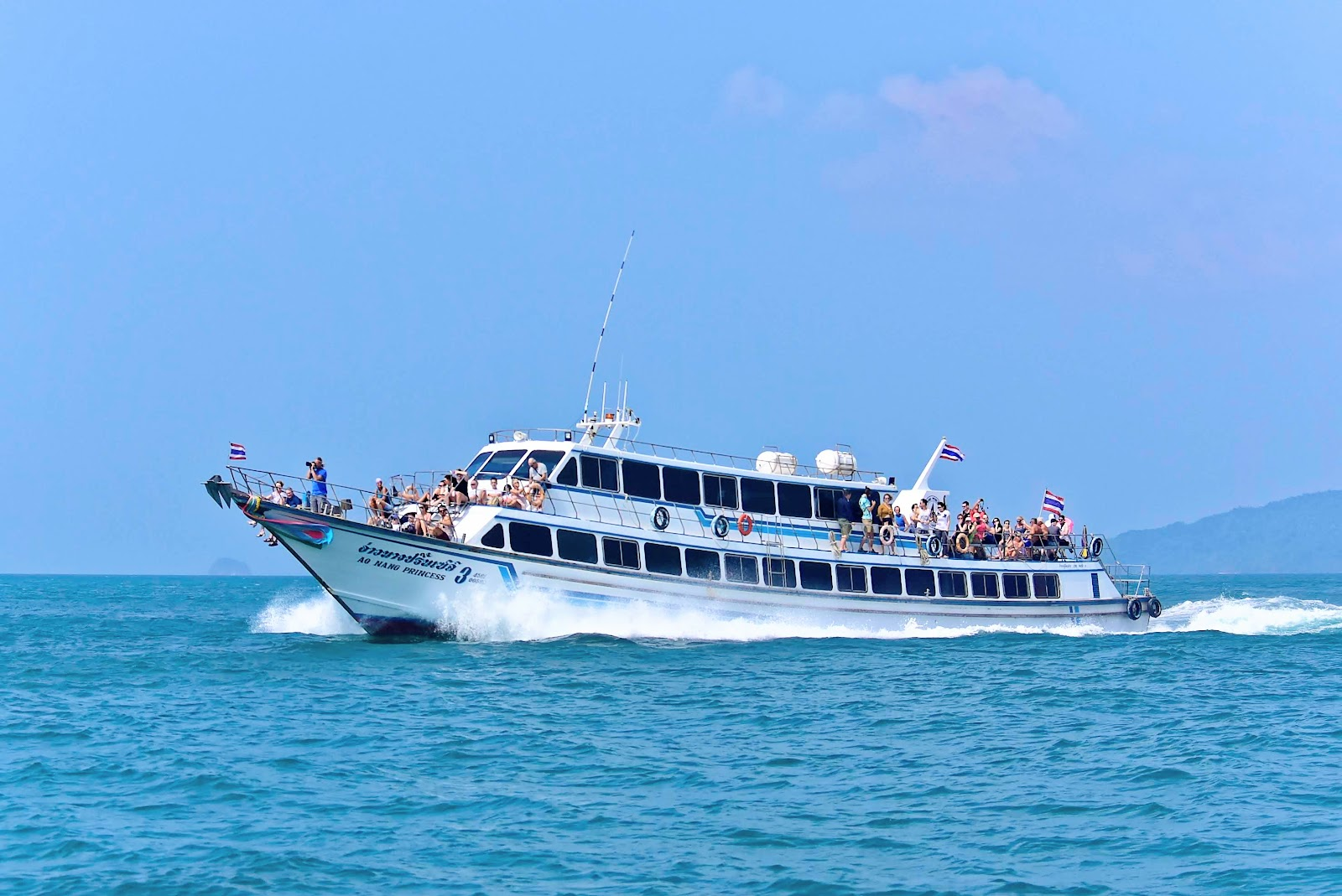 Day Tour from Phuket to 4 Islands around Krabi by Ferry and Speed Boat