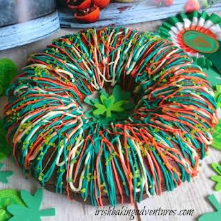 ST PATRICK'S DAY LEMON & RICOTTA RING CAKE.