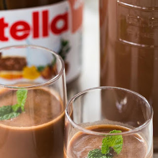 Homemade Nutella Liqueur Recipe