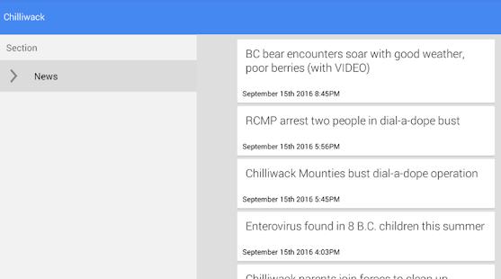 Chilliwack News - náhled