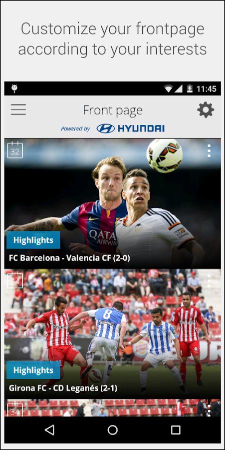 La Liga TV – Official Football - screenshot