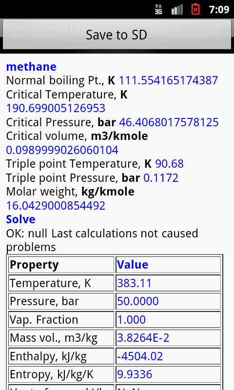 Thermodroid (Free)- screenshot