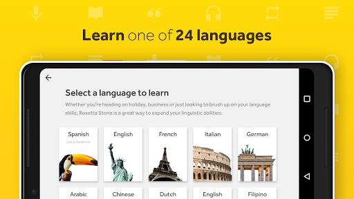 Rosetta Stone: Learn to Speak & Read New Languages Screenshot