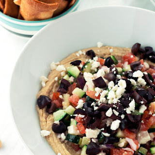 Loaded Mediterranean Hummus Dip Recipe