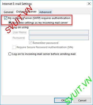 Xóa thư trên webmail và giữ lại trên Outlook (7)
