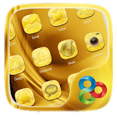 Golden GO Launcher Theme
