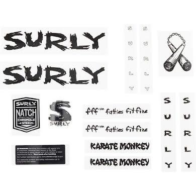 Surly Karate Monkey Frame Decal Set