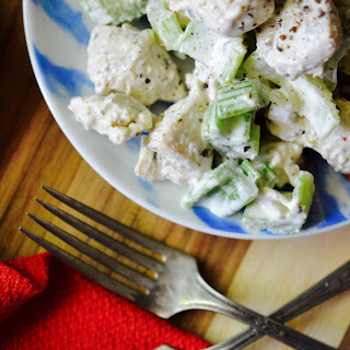 Chunky Marinated Chicken Salad