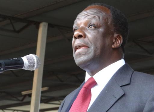 Kakamega Governor Wycliffe Oparanya
