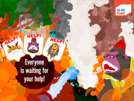 Screenshot for TO-FU OH!Fire in Hong Kong Play Store
