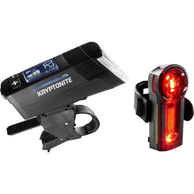 Kryptonite Incite X8 Headlight, XBR Taillight Set - Black