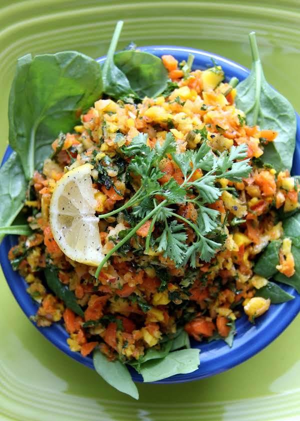 Carrot Tabbouleh Salad