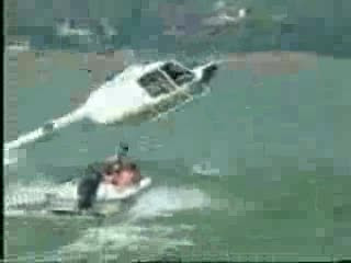 Helicopter tow job