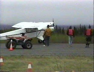 Incredibly short landing