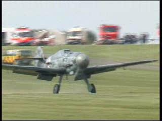 Messerschmitt Bf-109G Airshow demo