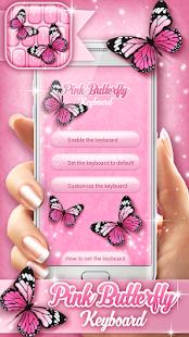Klávesnice pro Mobil – Motýl - náhled