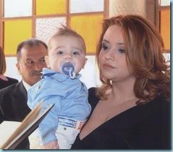 2008 02 24 Μελίνα νονά στον Πέτρο Σύρκο 02