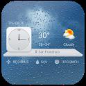 Analog Clock Widget & Weather icon