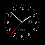 Analog Clock Live Wallpaper-7 Icon