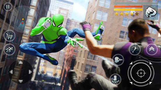 Spider Rope Hero - Vegas Crime city