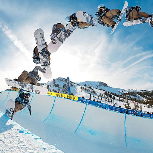 娱乐のスノーボードの壁紙 LOGO-記事Game