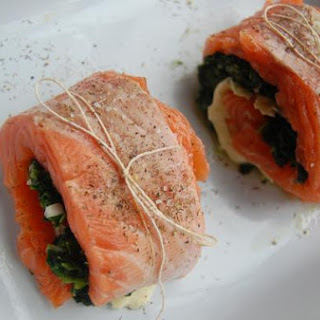 Stuffed Salmon With Tomato-Olive Tapenade