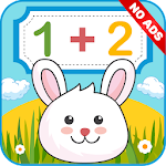Math for kids: math games, numbers, mathematics Icon