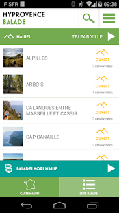 MyProvence Balade- screenshot thumbnail
