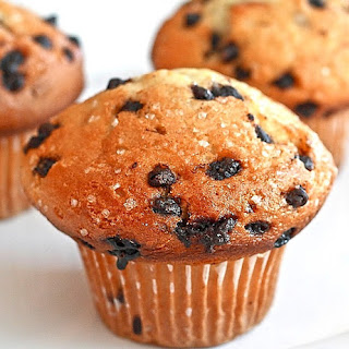 Ultimate Chocolate Chip Muffins.