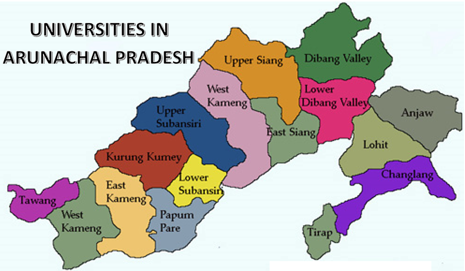 List of Universities in Arunachal Pradesh