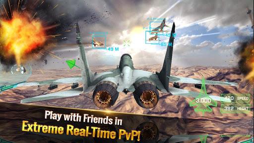 Ace Fighter: Modern Air Combat Jet Warplanes apklade screenshots 2