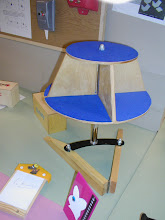 Photo: Year 11 RM project. DVD stand ......... I can see the flaws in the design!