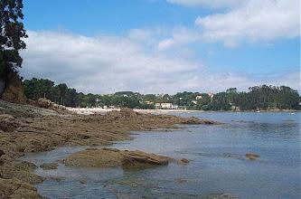 Photo: Vista da praia de Gandarío, parroquia de Ouces (2002)